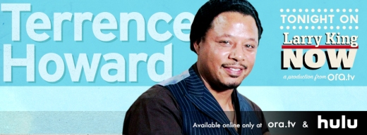 Terrence Howard on Larry King Now