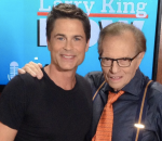Larry King Rob Lowe