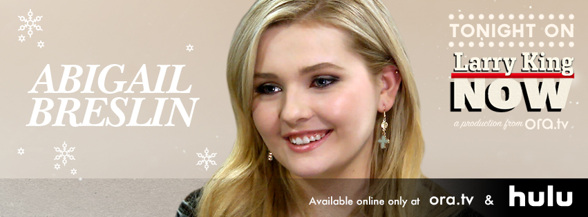 Abigail Breslin on Larry King Now