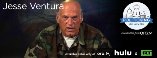 Jesse Ventura on Politicking with Larry King