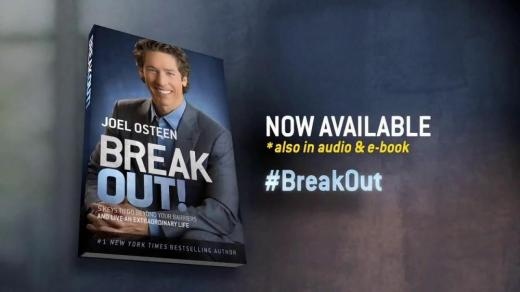 Joel Osteen's Breakout book - Larry King