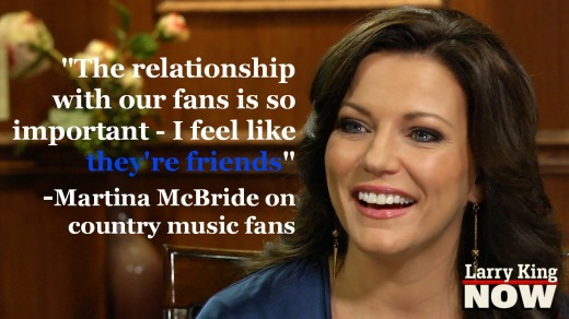 Martina McBride Larry King Now
