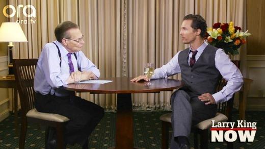 Matthew McConaughey on Larry King