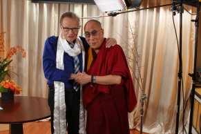 "The Dalai Lama on ""Larry King Now"" - 3/10/14"